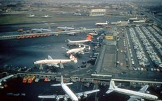 Chicago Midway Airport - Late 50's by twa1049g, via Flickr