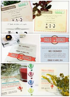 Invitaciones de boda originales (PSG Creativa)