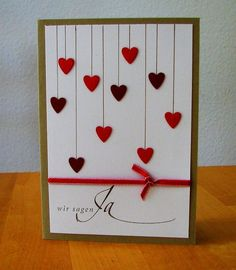 birthday cards for boyfriend - Schöne Woche Sprüche Valentines Day Cards Handmade, Handmade Birthday Cards, Diy Birthday, Valentines Diy, Wedding Invitation Cards, Wedding Cards, Birthday Cards For Boyfriend, Anniversary Cards, Diy Cards