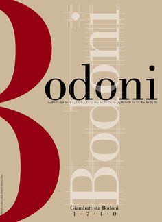 Giambattista Bodoni – Le Bodoni Bauhaus Typography, Cute Typography, Typography Alphabet, Typography Poster Design, Creative Typography, Typographic Poster, Graphic Design Posters, Japanese Typography, Modern Typography