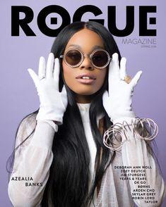 Azealia Banks x Rogue Magazine #AzealiaBanks #Fashion by niggahighasshit