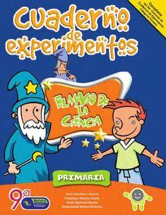 Cuaderno de experimentos el mago de la ciencia (primaria)