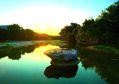"""Round Rock - In 1851, a small community was formed on the banks of Brushy Creek, near a large round and anvil-shaped rock located in the middle of the creek. This round rock marked a convenient low-water crossing for wagons, horses, and cattle. The first postmaster called the community """"Brushy,"""" and the creek was called """"Brushy Creek"""". But in 1854, at the suggestion of the postmaster, the small settlement was renamed Round Rock in honor of this now famous rock. Round Rock Texas, Cattle, Banks, Middle, Community, Horses, River, Outdoor, Beautiful"""
