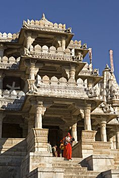 The Ranakpur complex is one of the biggest and most important Jain temples in India. Ranakpur Jain Temple near Udaipur, Rajasthan, India. Photograph by John Warburton-Lee