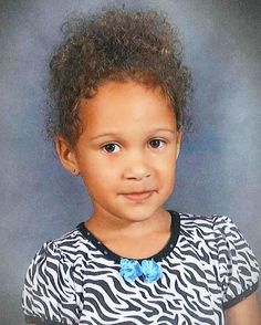 RIP 5 year old Heaven Woods: Abused and beaten to death by her mother.