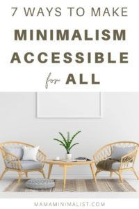 An intentional life that prioritizes loved ones over stuff is minimalism in a nutshell, and a minimalist life — at least in theory — is accessible to all. But in practice? Physical, intellectual, and mental challenges often stand in the way for many aspiring minimalists. Inside 7 ways to make a minimalist life accessible for everyone. In A Nutshell, Christian Parenting, How To Remove, Minimalist, Life, Minimalism