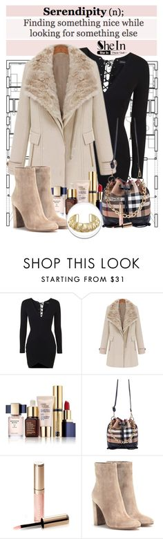 """SheIn IV-09"" by shambala-379 ❤ liked on Polyvore featuring Topshop, Estée Lauder, By Terry, Gianvito Rossi, Sheinside, polyvorefashion and shein"