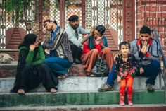Ear cleaners at Rishikesh embankment