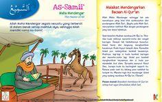 Kisah Asma'ul Husna As-Samii Kids Story Books, Stories For Kids, Asma Allah, Islamic Pictures, Islam Quran, Kids And Parenting, Ramadan, Puns, Education