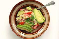 Summer Quinoa Salad #MeatlessMonday #lunch