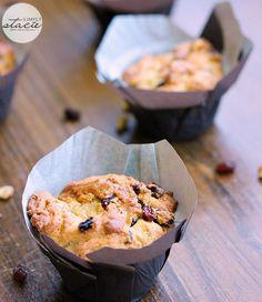 Buttertart Muffins | www.simplystacie.net | #muffins #buttertarts #Canadian
