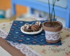 Handmade mini cookies