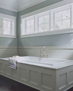 make a wood bathtub surround - Google Search