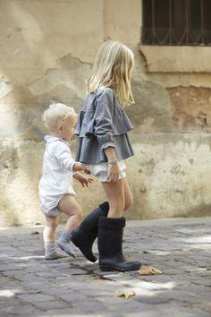 Colección otoño-invierno 2014 de la firma de #moda infantil #pepitobychus www.pepitobychus.com #niños #niñas #bebé #trendy #tendencias Fall Winter, Autumn, My Girl, Little Girls, Aw 2014, Hipster, Children, Boys, Cute