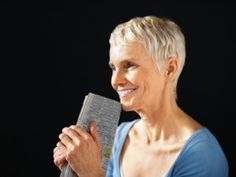 Short hairstyles for older women 2013
