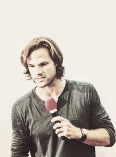 I'm a Jensen/Dean girl but I will never say that Jared isn't beautiful <3