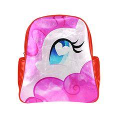 heart pinkie Multi-Pockets Backpack (Model 1636)
