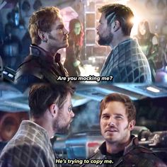 Get it together starlord