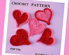 Crochet Blue Bird Applique by GoldenLucyCrafts on Etsy