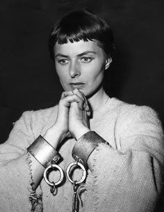 Portrait of Ingrid Bergman for Joan of Arc directed by Victor Fleming, 1948.