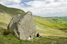 The Ull Stone, Kentmere in the Lake District National Park, Cumbria, England