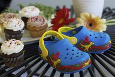 @crocs CrocsLights Dinosaur Clogs