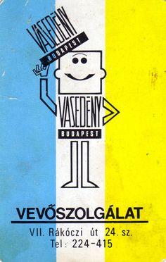 1980 | Kártyanaptárak - Vasedény Budapest Pocket Calendar, My Childhood Memories, Illustrations And Posters, Hungary, Budapest, Illustrators, Retro Vintage, Communism, Ads