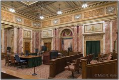 Fort Wayne Allen County Courthouse | Allen County Indiana Courthouse Courtroom