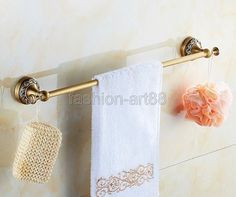 Bathroom Accessories Vintage european vintage bathroom accessories antique brass towel rack