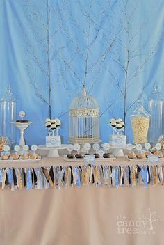 Cute baby shower decorating