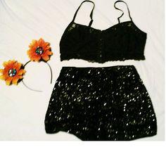 Summer Rave Outfits Rhinestones EDC EDM Rave by BeautifulHalo