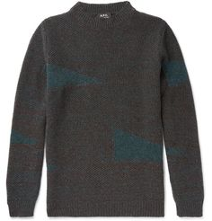 Stay warm and stylish with the selection of sweaters, cardigans and other men's knitwear from over 100 luxury fashion designers from MR PORTER. Jumper, Men Sweater, Joey Tribbiani, Luxury Fashion, Mens Fashion, Mr Porter, Cashmere Cardigan, Wool Sweaters, Stylish