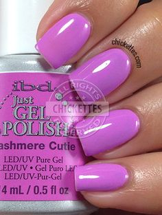 Chickettes.com - ibd Just Gel Polish Social Lights Collection - Cashmere Cutie