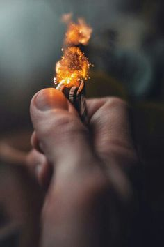 Even the simplest of actions like the flick of a lighter can be extraordinary.