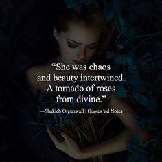 She was chaos and beauty intertwined.. via (http://ift.tt/2pOX0Lv)