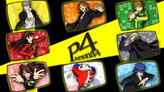 persona 4 midnight channel selection background by mrjechgo
