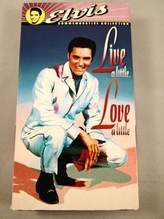 Live a Little, Love a Little (VHS, 1997, Includes Theatrical Trailer) Elvis Film $9.99 #ElvisMovies#ElvisFilm#Elvis##freeshipping