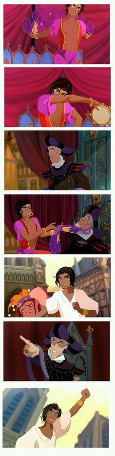 Fan Art: Esmeralda gender bender (The Hunchback of Notre Dame).