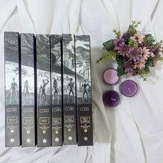 Eu sei que praticamente todos já leram esses livros. E quem leu fala hiper bem da #CassandraClare, então adquiri esses lindos para fazer uma maratona Ano que vem.#AnoNovo #LivrosNovos #Love #shadowhunters