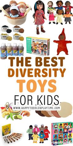 Best Anti-Racism Toys for Kids - HAPPY TODDLER PLAYTIME Educational Activities For Kids, Educational Toys, Learning Activities, Christmas Crafts For Kids To Make, Toddler Travel, Play Based Learning, Anti Racism, Creative Thinking, Kids Toys