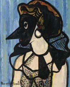Francis Picabia, La femme au masque