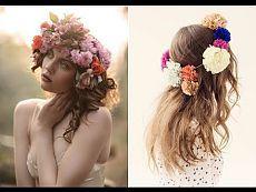 """Обруч с цветами. Мастер класс """"Обруч с цветами"""".цветы венки.венки.венок из цветов"""