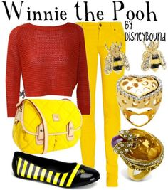 Winnie the Pooh Fun Outfit