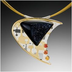 Newman+-+pendant+with+black+druzy+quartz.jpg (454×454)