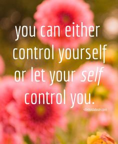 Energie frequentie | control yourself quote
