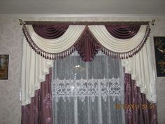 Curtains And Draperies, Home Curtains, Window Curtains, Beautiful Curtains, Curtain Designs, Draping, Sewing Patterns Free, Bed Spreads, Window Treatments