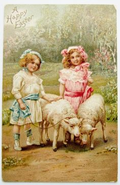 Happy Easter Vintage
