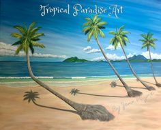"""Mission Beach"" Fine Art Print"