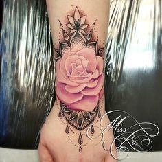 Rose wrist tattoo                                                                                                                                                     More