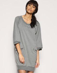 Numph | Numph Oversized Sweat Dress at ASOS from asos.com